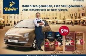 Tchibo GmbH: Mit Tchibo italienisch genießen und Fiat 500 gewinnen