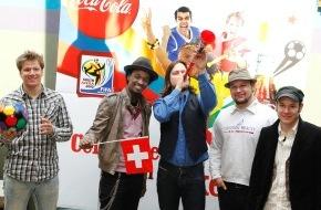 Coca-Cola Schweiz GmbH: Hitparaden-Stürmer & Schweizer Newcomer Band / K'Naan trifft auf 77 Bombay Street