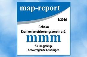 """Debeka Versicherungsgruppe: map-report: """"Die Debeka verteidigt erneut die Position als bester privater Krankenversicherer"""""""