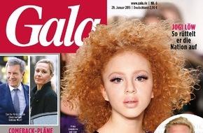 Gruner+Jahr, Gala: Popstar Sasha: Heiratsantrag unter Palmen
