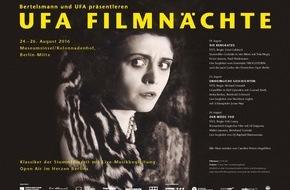 Bertelsmann SE & Co. KGaA: Bertelsmann und UFA laden zu 6. UFA Filmnächten auf die Berliner Museumsinsel