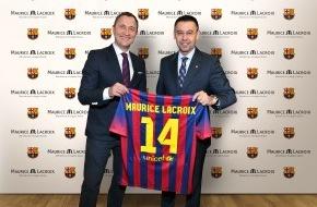 Maurice Lacroix S.A.: Maurice Lacroix est heureux d'annoncer un partenariat de trois ans avec le FC Barcelone au titre de «partenaire horloger officiel du FC Barcelone»