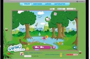 Coca-Cola Schweiz GmbH: Sauberes Wasser ist nicht selbstverständlich: Pusch und Coca-Cola lancieren das Online-Spiel «Girino - schützt das Wasser»