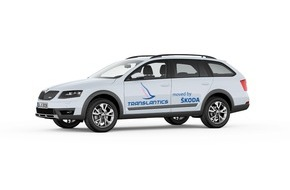 Skoda Auto Deutschland GmbH: SKODA Octavia Scout als Darsteller im Kunstprojekt 'Translantics'