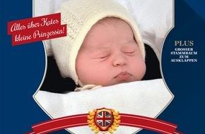 """Gruner+Jahr, Gala: GALA-SPECIAL """"Königskinder"""" mit aktuellen Fotos der kleinen britischen Prinzessin und weiteres Wissenswerte zum Nachwuchs der internationalen Königshäuser ab Donnerstag im Handel"""