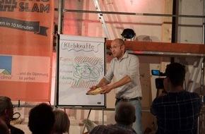 MOLL bauökologische Produkte GmbH: Afterwork-Bauparty mit Slambeiträgen und Musikvideo-Premiere / Zweiter Bauslam am 2. Juni in der Wollfabrik in Schwetzingen mit Live-Band Jubilee Jumpers