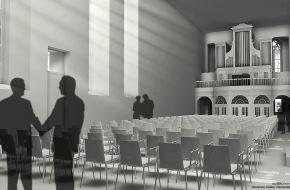 Wegelin & Co. Privatbankiers: Wegelin & Co. präsentiert ihre Baueingabe für St. Katharinen in St. Gallen
