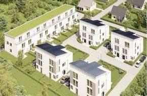 Bien-Zenker GmbH: Neue Bien-Zenker Häuser machen mobil / Erste Plus-Energie-Haus-Siedlung in der Metropolregion FrankfurtRheinMain