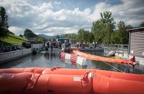 VKF / AEAI: Weltweit einzigartige Überflutungssimulation