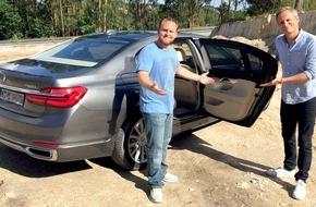 RTL II: GRIP - Das Motormagazin: Der neue 7er BMW