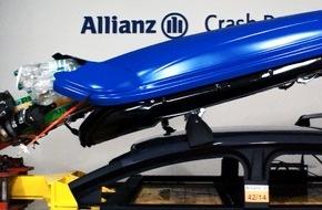 Allianz Suisse: Allianz Suisse: Gefahr durch Skibox auf dem Dach (BILD)