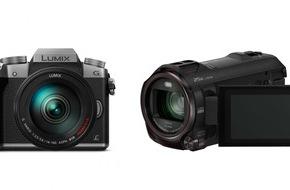 Panasonic Deutschland: Panasonic zweifach mit EISA-Award ausgezeichnet / Die 4K-Kamera LUMIX G70 und der 4K Ultra HD Camcorder WX979 erhalten jeweils eine der begehrten Auszeichnungen
