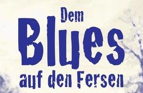 tredition Verlag: DEM BLUES AUF DEN FERSEN - der neue Musik-Roman von Richard Koechli