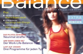 """Gruner+Jahr, BRIGITTE: Am 28. April erscheint die Erstausgabe von BRIGITTE BALANCE - """"Das Beste für Körper und Seele"""" / Mit dem neuen BRIGITTE-Sonderheft Spannungsfelder des Alltags austarieren"""