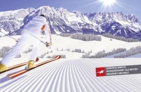 SkiWelt Wilder Kaiser-Brixental Marketing GmbH: Sonnenskifahren bei atemberaubendem Panorama und bestens präparierten Pisten
