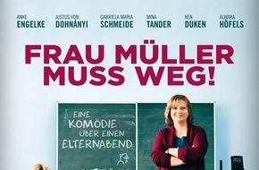 "Constantin Film: FRAU MÜLLER MUSS WEG gewinnt ""Goldene Romy"" in Wien"