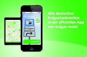 erdgas mobil GmbH: Offizielle Erdgastankstellen-App von erdgas mobil: neue Funktionen, aktualisiertes Design und nun auch für Android