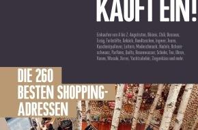 ZÜRICH KAUFT EIN!: Das neue ZÜRICH KAUFT EIN! 2014 / Die 260 besten Shopping-Adressen der Stadt Zürich. Auf 222 Seiten.