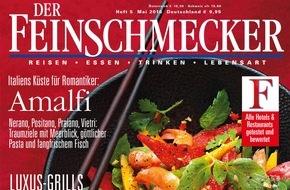 """Jahreszeiten Verlag, DER FEINSCHMECKER: """"Die exquisite Premiere des Monats: Der Nightlife-Guide von DER FEINSCHMECKER."""""""
