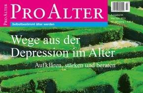 Kuratorium Deutsche Altershilfe: Wege aus der Depression im Alter