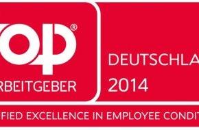 """DVAG Deutsche Vermögensberatung AG: Erneute Auszeichnung für Berufs- und Karrierechancen: Deutsche Vermögensberatung (DVAG) ist zertifizierter """"Top Arbeitgeber Deutschland 2014"""" (FOTO)"""