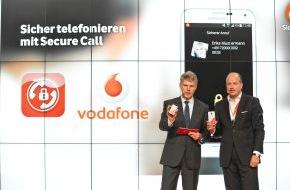 Vodafone GmbH: Secure Call: Vodafone zeigt erstes Hochsicherheits-Telefonat auf der IFA