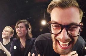 ProSieben Television GmbH: RED NOSE DAY 2016: Joko und Klaas vergeht das Lachen - Harro Füllgrabe stürzt sich für den guten Zweck in die Tiefe