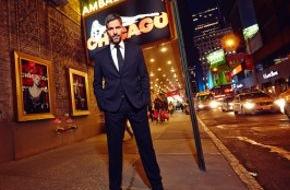 Stage Entertainment Stuttgart: CHICAGO in Kürze mit Schauspieler Pasquale Aleardi in männlicher Hauptrolle