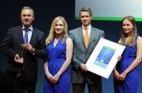 """SOLARWATT GmbH: SOLARWATT GmbH gewinnt """"ees Award 2015"""" mit neuem Stromspeicher """"MyReserve"""""""