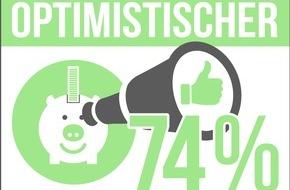 RaboDirect Deutschland: Forsa-Studie: Mehrheit der Deutschen beurteilt die Zukunft positiv / Sparer sind besonders optimistisch