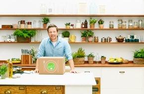 HelloFresh GmbH: HelloFresh und Jamie Oliver kooperieren: Selbst kochen wird ab Januar noch einfacher und leckerer