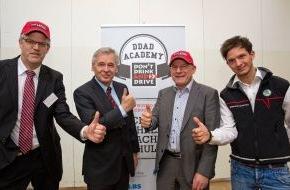 Skoda Auto Deutschland GmbH: SKODA unterstützt neues Projekt der Initiative ,DON'T DRINK AND DRIVE'