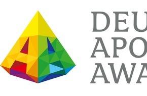 ABDA Bundesvgg. Dt. Apothekerverbände: Deutscher Apotheken-Award erstmals ausgeschrieben