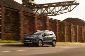 Ford-Werke GmbH: Ford EcoSport ab sofort mit vielen Detail-Verbesserungen