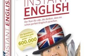 PONS GmbH: PONS Herbstprogramm 2014: More Instant English / Lernen mit Humor: Der angenehmste Weg zum Englischprofi