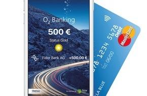 Telefónica Deutschland Holding AG: Megabytes statt Magerzinsen: o2 Banking - Telefónica revolutioniert Mobile Banking