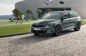 Skoda Auto Deutschland GmbH: SKODA feiert Doppeljubiläum mit attraktiven 'Edition'-Modellen (FOTO)