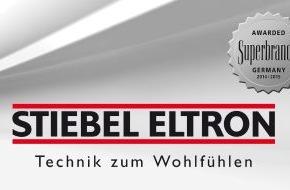 """STIEBEL ELTRON: Alle guten Dinge sind drei / Stiebel Eltron erneut """"Superbrand"""""""