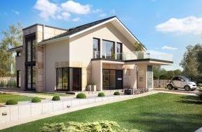 Bien-Zenker GmbH: Das neue, nachhaltige Design-Haus von Bien-Zenker / High Tech und Holz / Nachhaltigkeits-Zertifizierung / Nur nachhaltig gebaute Häuser bleiben werthaltig / Verantwortung für die Zukunft