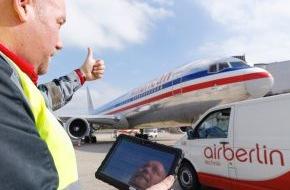 Air Berlin PLC: airberlin technik heißt American Airlines als neuen Kunden in Düsseldorf willkommen