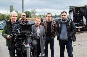 """SWR - Das Erste: Dreharbeiten zum Stuttgarter Tatort """"Patt""""  Lannert und Bootz ermitteln unter Schleusern und Flüchtlingen"""