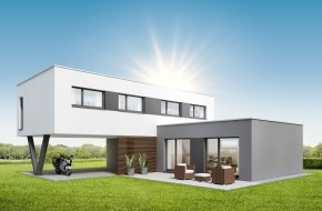 SWISSHAUS: Visionär und lifestyleorientiert: NEO von SWISSHAUS / NEO - das Visionäre: SWISSHAUS baut Lifestyle-Eigenheim für Paare
