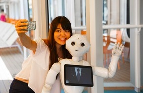 Costa Kreuzfahrten: Roboter Pepper geht an Bord der Costa Diadema