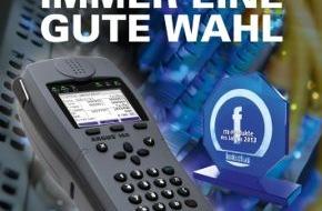 """intec Gesellschaft für Informationstechnik mbH: ARGUS - immer eine gute Wahl: Mit neuester Messtechnik zum """"ITK-Produkt des Jahres 2013"""""""