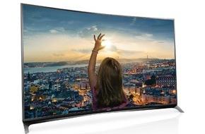 Panasonic Deutschland: 4K PRO, CURVED, FIREFOX OS: Das sind die Panasonic TVs in 2015 / Die Nummer 2 im deutschen TV-Gesamtmarkt 2014 durchbricht Grenzen in Bildqualität und setzt auf Wachstum