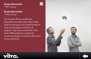 Vitra AG: Wandverschönerung mit neuer Vitra-App