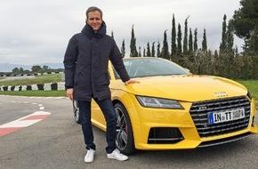 """RTL II: """"GRIP - Das Motormagazin"""": Der neue Audi TTS Roadster / Sendetermin: Sonntag, 1. März 2015, um 18:00 Uhr bei RTL II"""