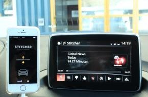 Touring Club Schweiz/Suisse/Svizzero - TCS: Smartphones und Multimedia im Auto: Die Sicherheit geht vor
