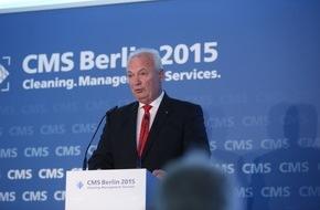 Messe Berlin GmbH: Statement von Werner Schulze, Fachbereichsvorsitzender und Mitglied des Vorstands des IHO für industrielle und institutionelle Anwendung zur CMS 2015