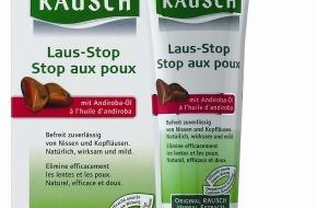 Rausch AG Kreuzlingen: Rausch AG Kreuzlingen: Der neue Läuse-Killer wirkt doppelt - ist mild und ohne Giftstoffe
